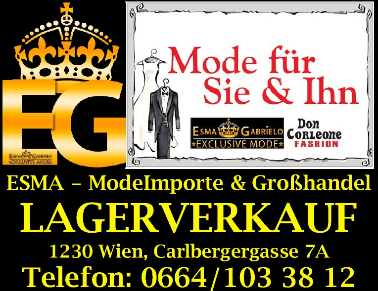 Don Corleone Fashion - Wien - aktuelle & exclusive Herrenmode - FASHION OUTLET VIENNA - Lagerverkauf & Großhandel